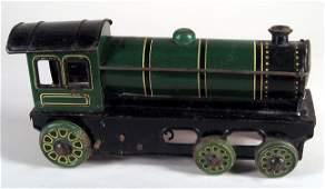 33: H. FISCHER Locomotive Tin Engine Wind Up 1920s
