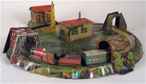 34: DISTLER Miniature Railway w/ Bavarian Countryside
