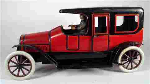 121: BUB: Large Limousine with Chauffeur/Officer 1929