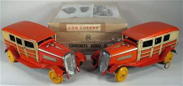 123: MATARAZZO (Argentina) Woody Car Set in BOX