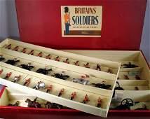 268: BRITAINS DISPLAY SET 73:  Rare Tied in Box