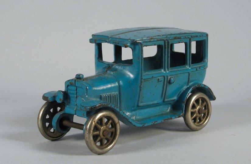 1920s Blue Arcade Ford Model T Sedan
