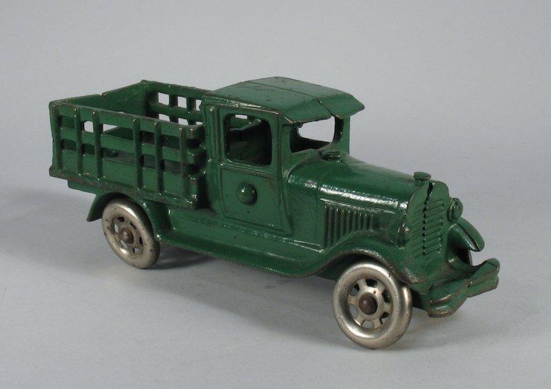1920s Arcade Cast Iron Stake Truck