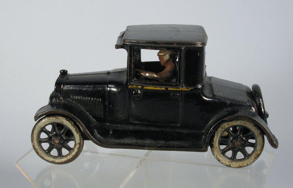 1928 Arcade Cast Iron Chevy Coupe