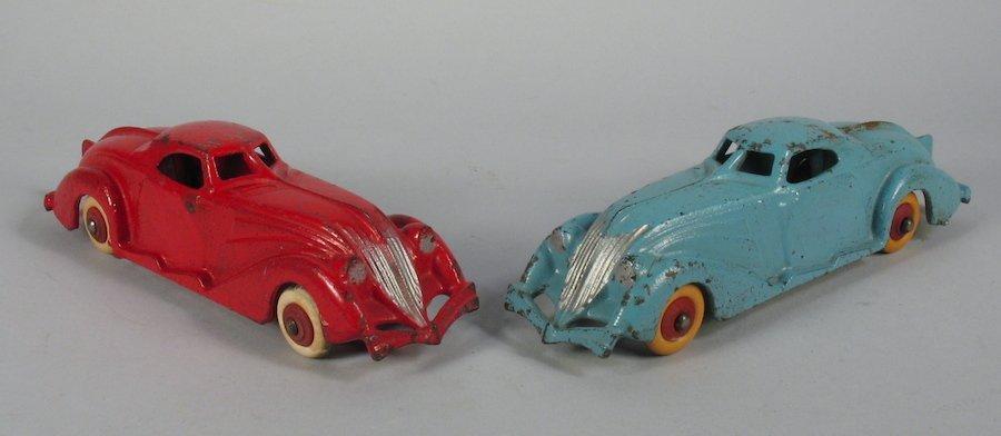 Hubley Art Deco Coupes