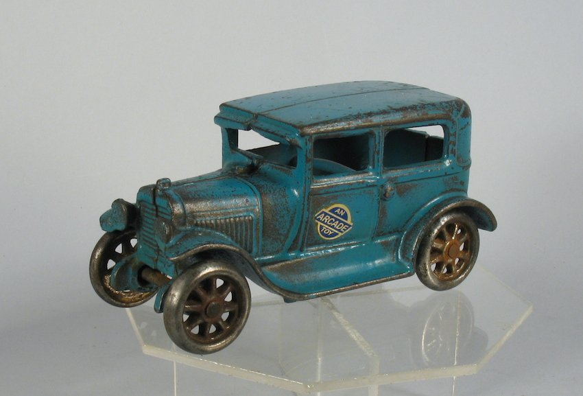 Arcade Blue Ford Tudor Sedan
