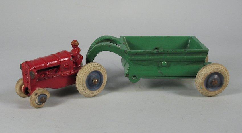 Arcade Tractor and Spreader