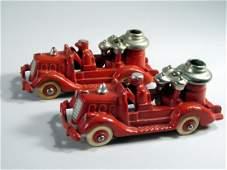 Hubley/ AC Williams Cast Iron Fire Truck Lot