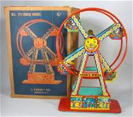 1930s J Chein Hercules Ferris Wheel In Box