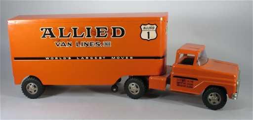 1960 Tonka Pressed Steel Allied Van Lines Truck
