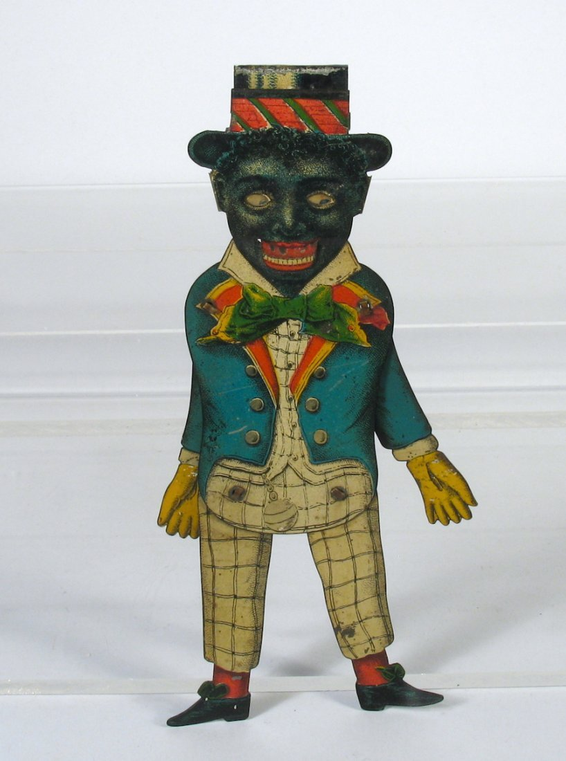 1900's German Tin Black Dude with Moving Eyes