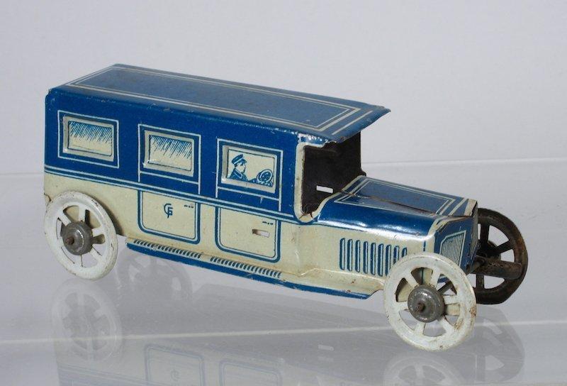 Fischer German Tin Penny Toy Limousine