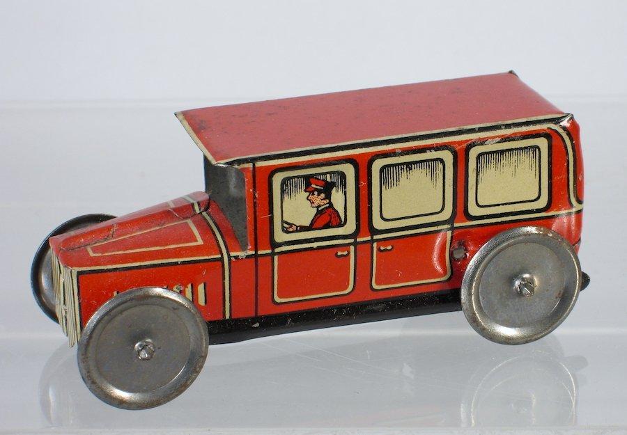 German Tin Penny Toy Limousine