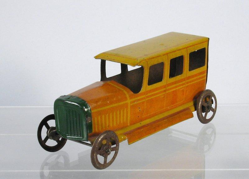 German Tin Penny Toy Sedan