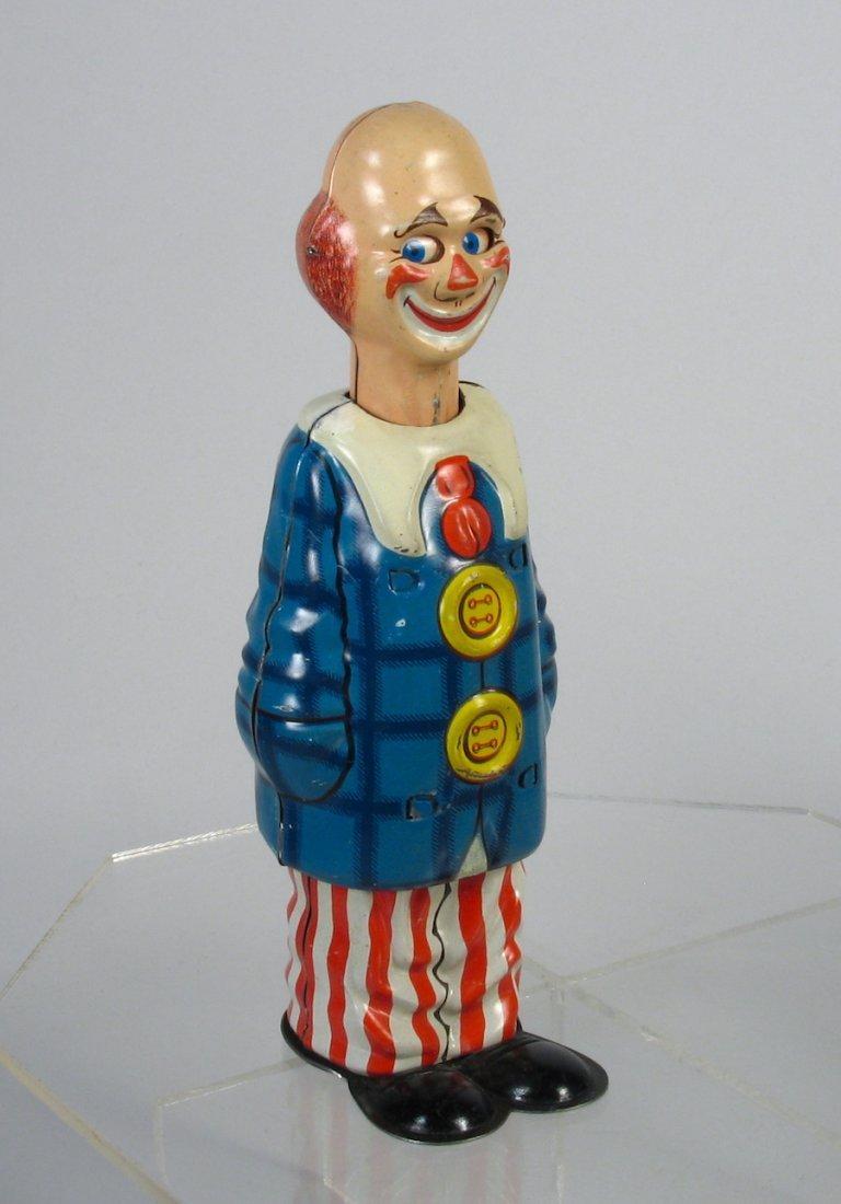 Distler German Tin Wind Up Clown