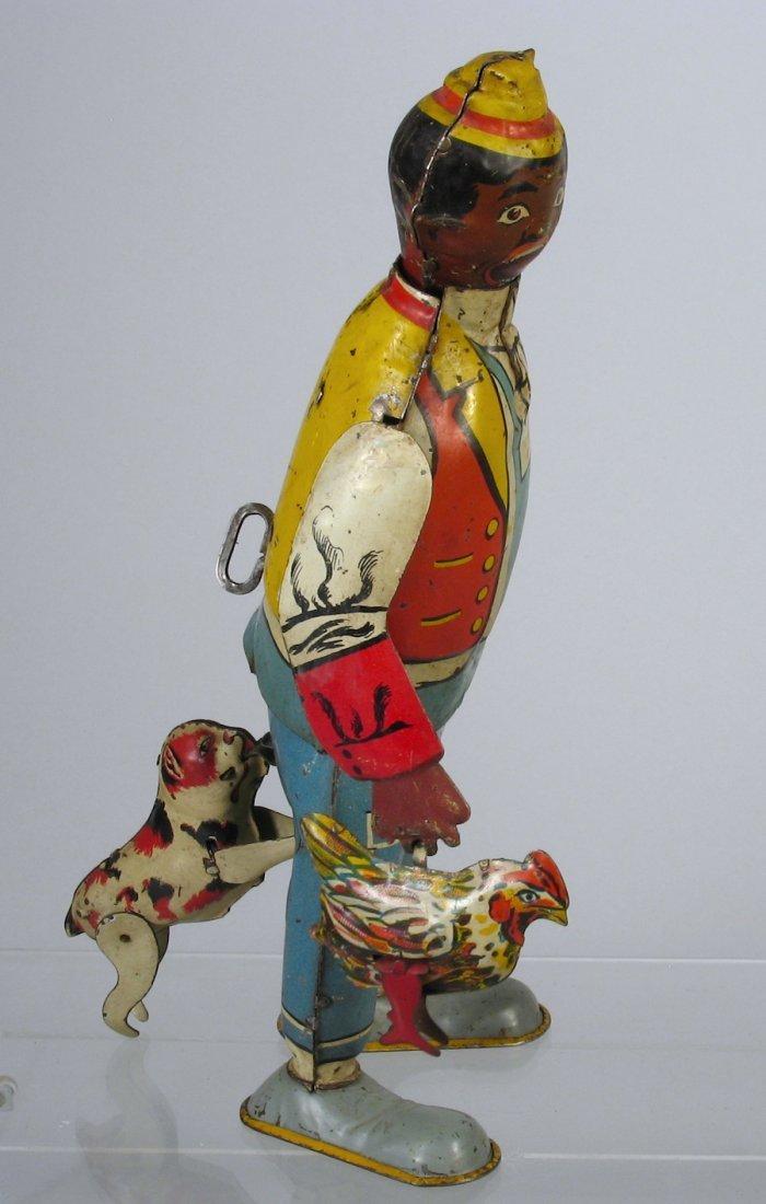 Marx Hey Hey! The Chicken Snatcher Tin Toy