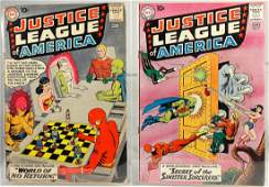 Justice League of America Comics 1 and 2