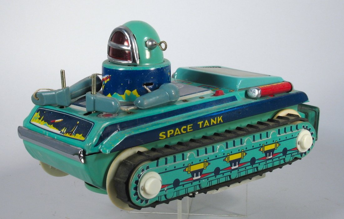 Space Tank Tin Robot Space Vehicle