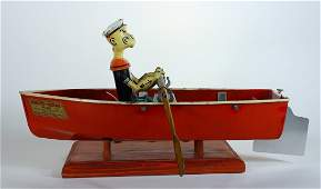 Hoge Popeye the Sailor In Rowboat No.268