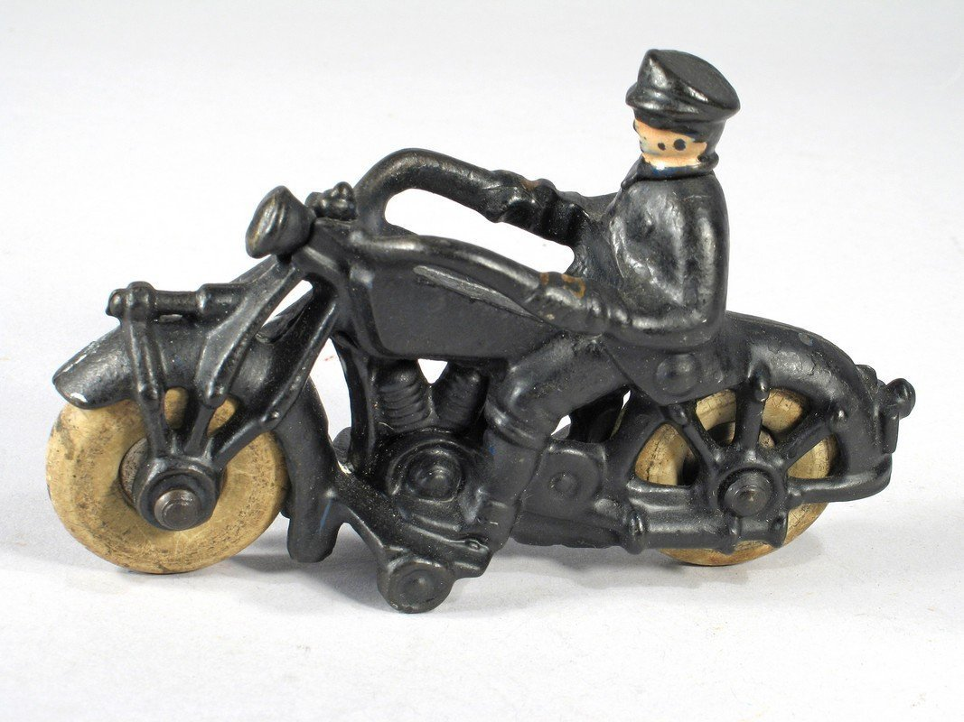 Champion Cast Iron Motorcycle