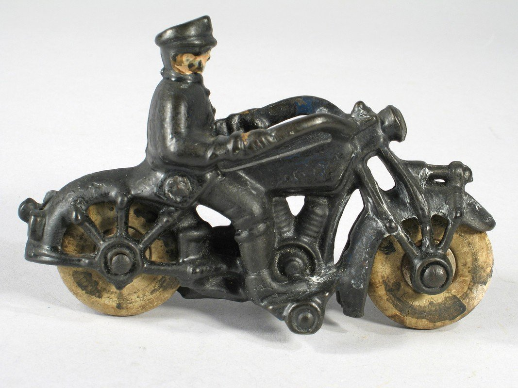 Champion Cast Iron Motorcycle - 2