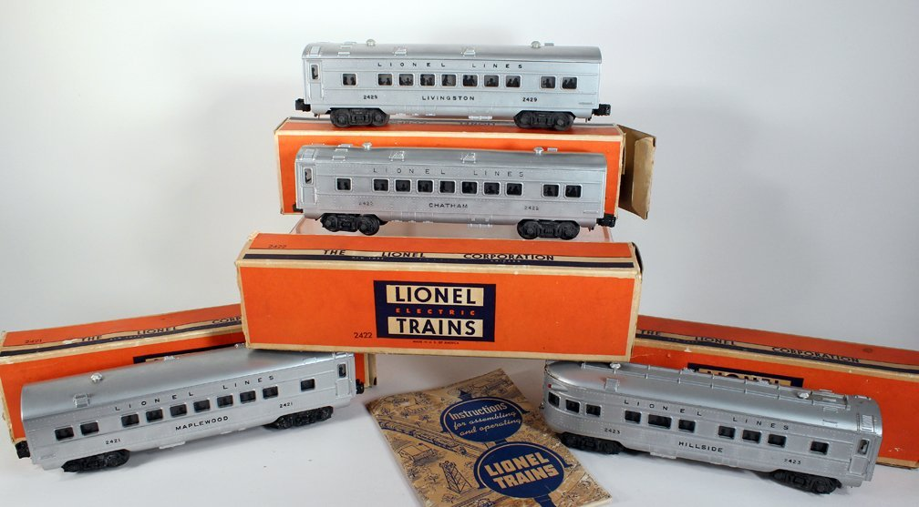 Lionel Trains Boxed Passenger Set