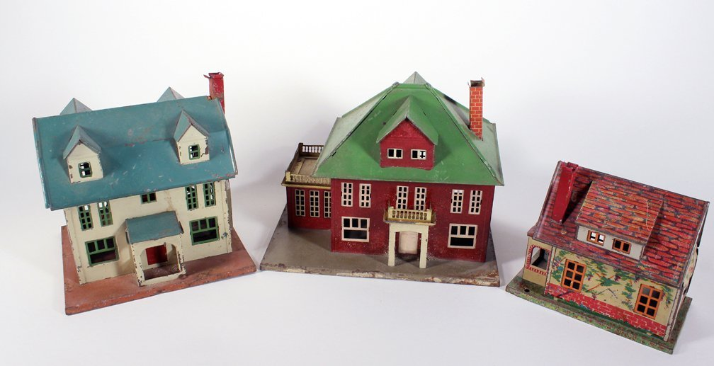 Lionel Metal Homes Cape Cod, Colonial and Bungalow Home