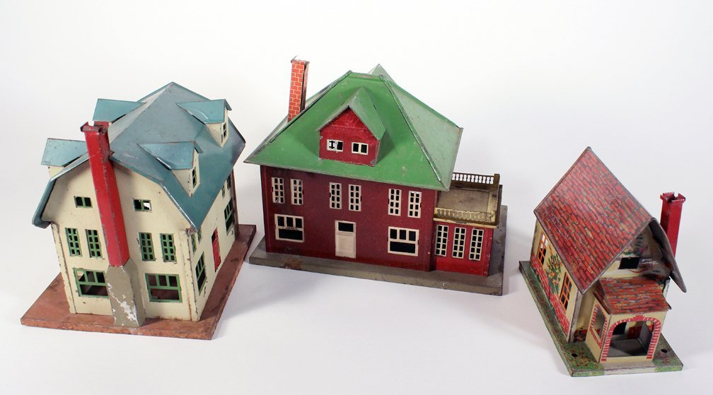 Lionel Metal Homes Cape Cod, Colonial and Bungalow Home - 2