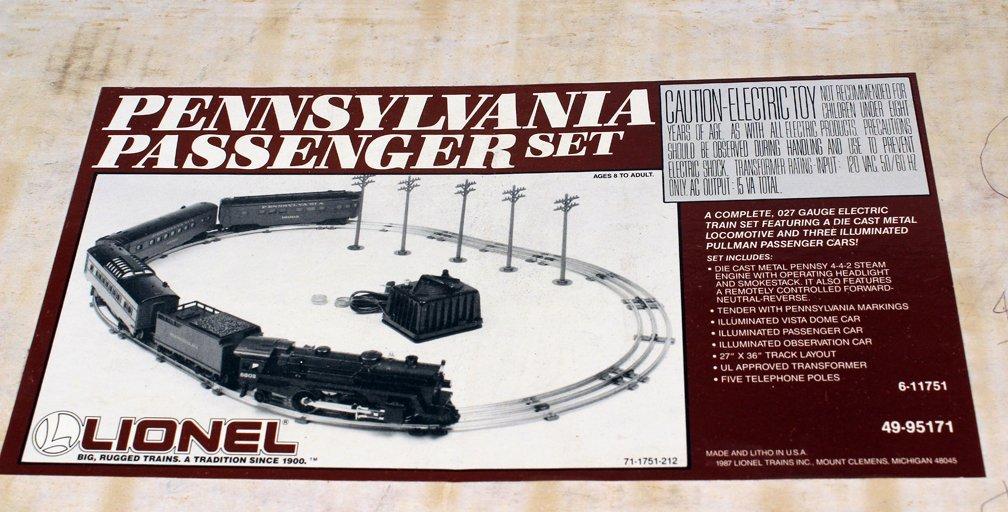 Lionel Pennsylvania Passenger Set Mint in Box