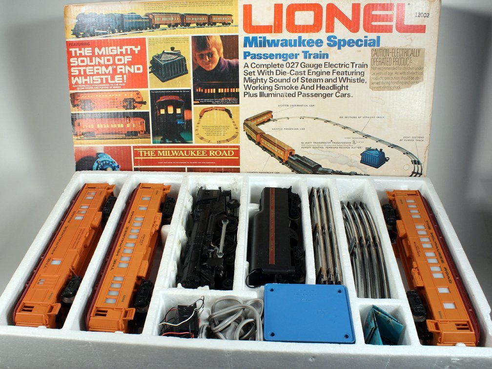 Lionel Milwaukee Special Passenger Train Set In Box