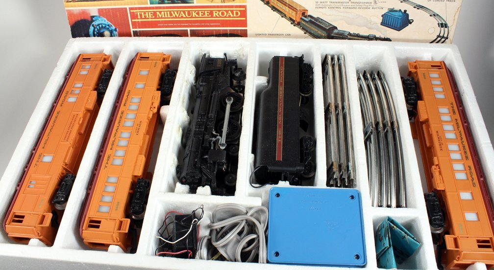 Lionel Milwaukee Special Passenger Train Set In Box - 2