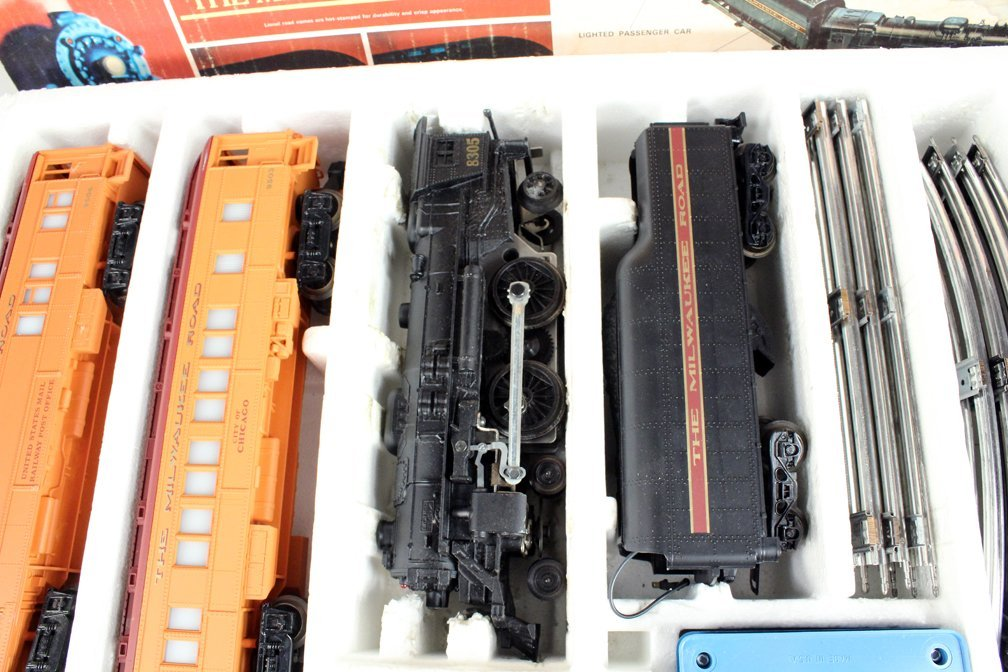Lionel Milwaukee Special Passenger Train Set In Box - 3