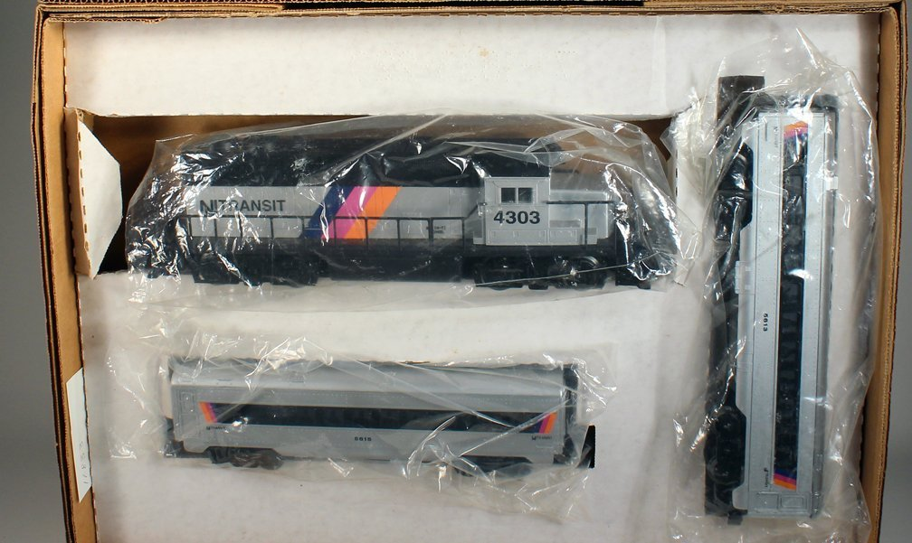 Lionel NJ Transit Set Mint in Box