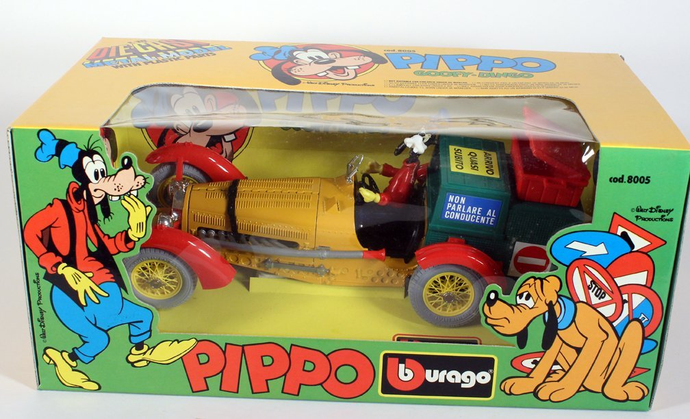 Pippo Walt Disneys Car Goofy Mickey Burago