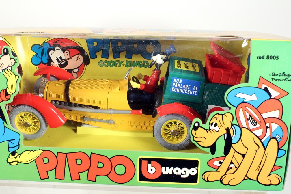 Pippo Walt Disneys Car Goofy Mickey Burago - 2
