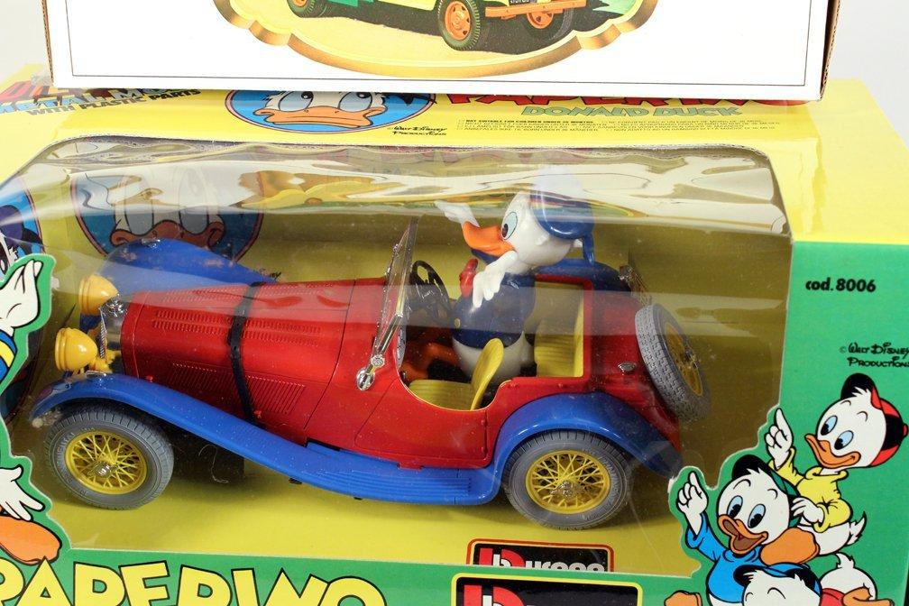 Walt Disney Car Donald Duck Open Tourer & Hess Truck - 2