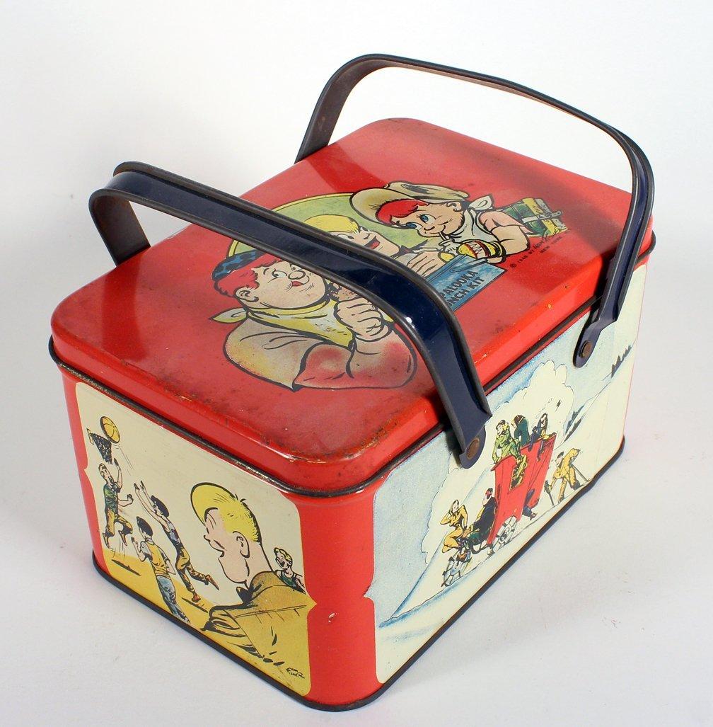 Joe Palooka Lunchbox - 3