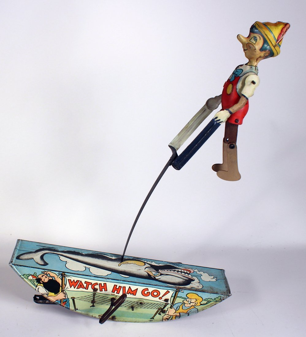 1939 Marx Pinocchio The Acrobat Wind Up - 2