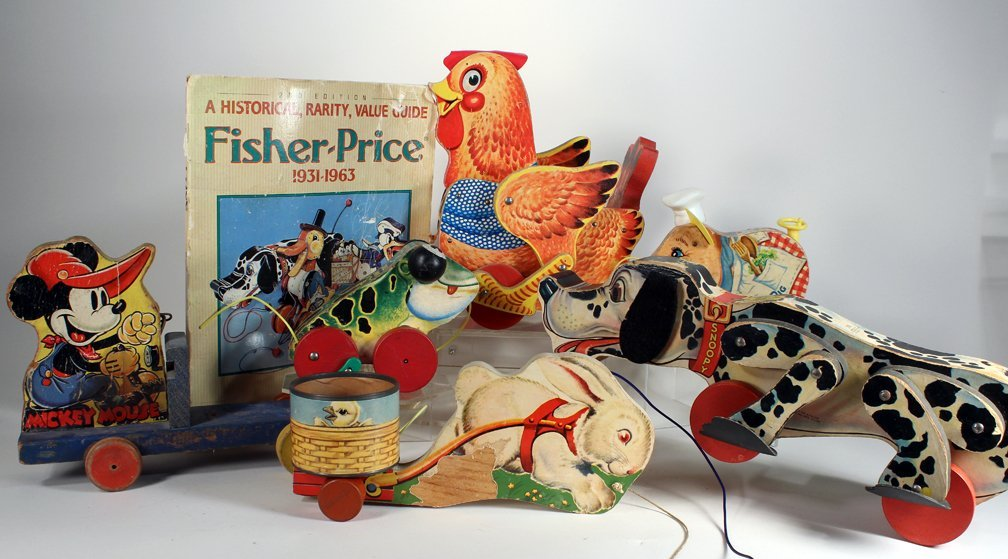 Fisher-Price Collection Pull Toys & Book