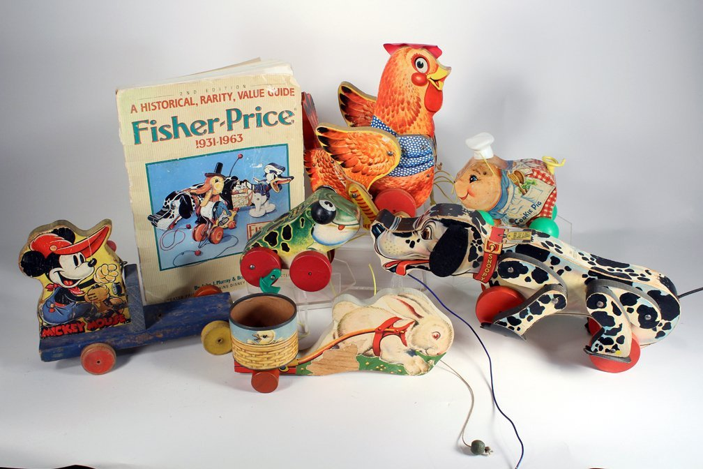 Fisher-Price Collection Pull Toys & Book - 2