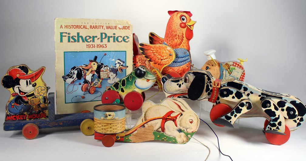Fisher-Price Collection Pull Toys & Book - 3