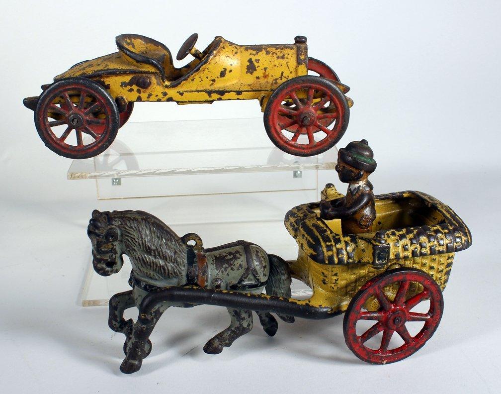 Arcade Cast Iron Chester Gump & Williams Race Car