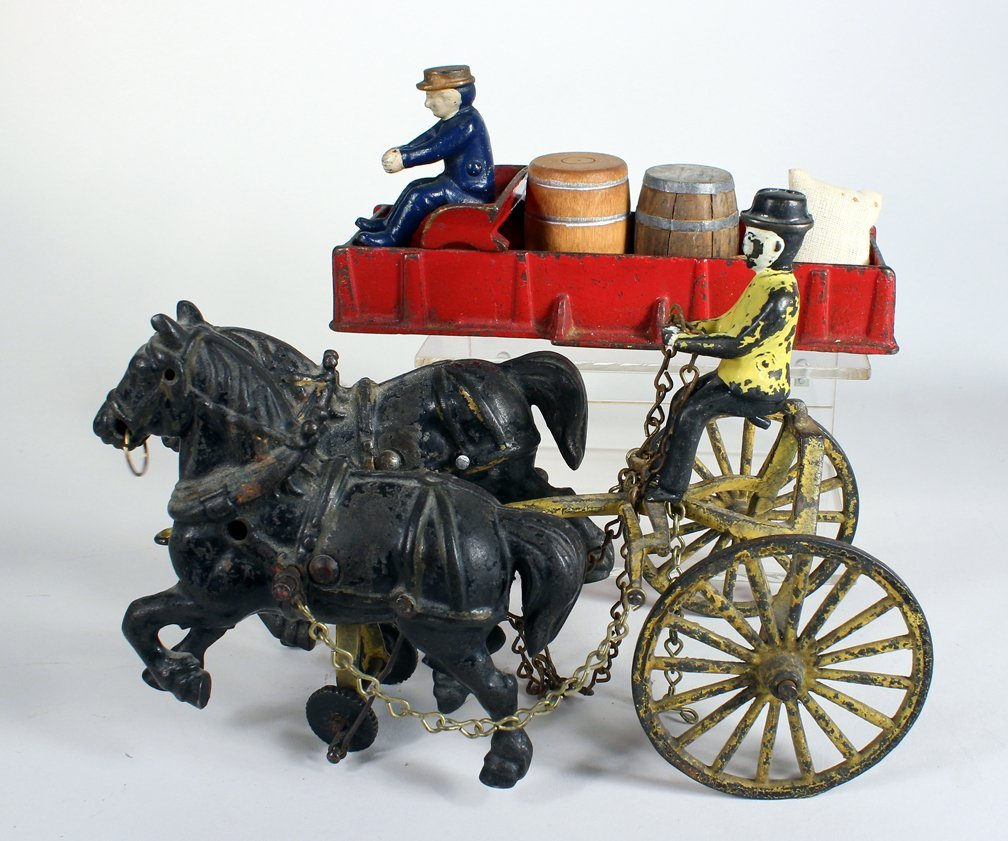 Kenton Cast Iron and Large Horse Drawn Parts