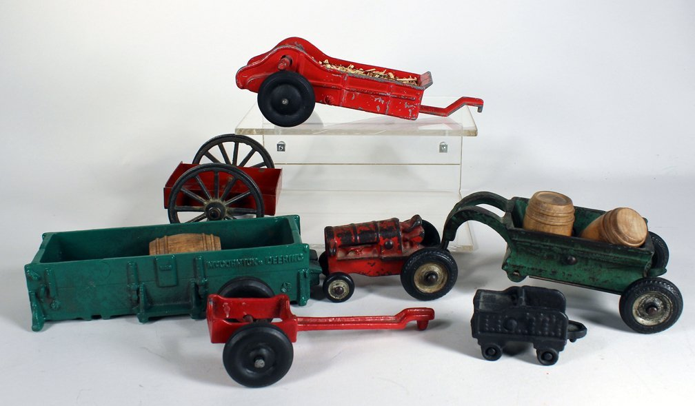 Cast Iron Farm Toys Arcade & Kenton Lot