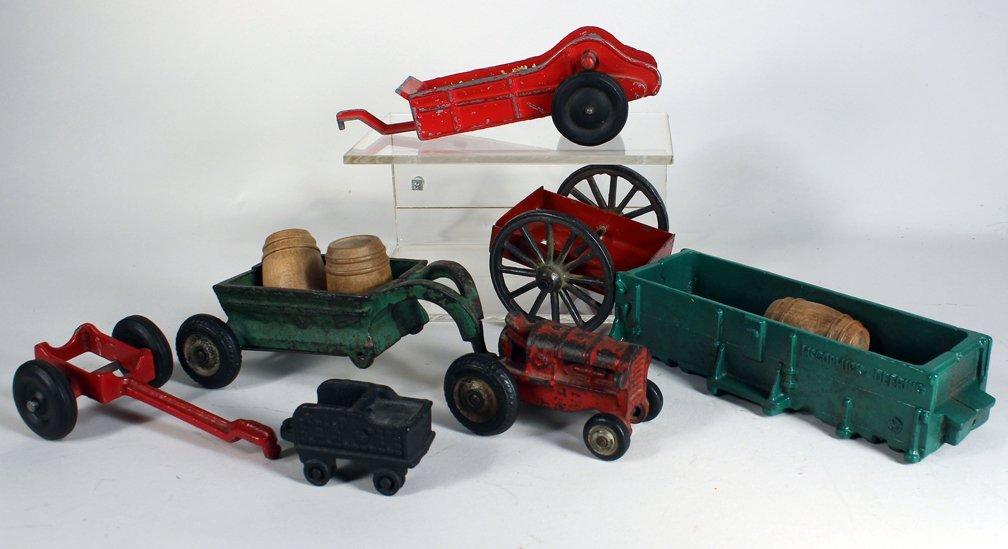 Cast Iron Farm Toys Arcade & Kenton Lot - 2