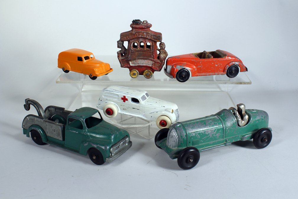 Toonerville Trolley & Slush Toy Cars Truck & Racer