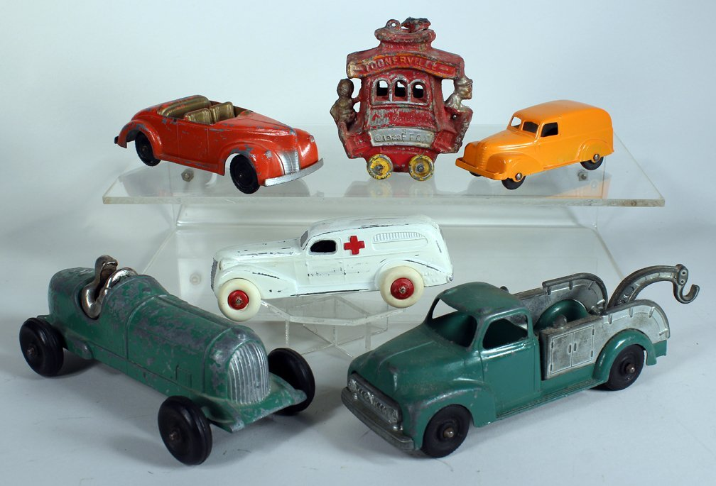 Toonerville Trolley & Slush Toy Cars Truck & Racer - 2