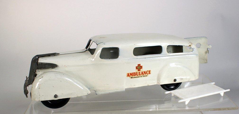 Wyandotte Pressed Steel Ambulance