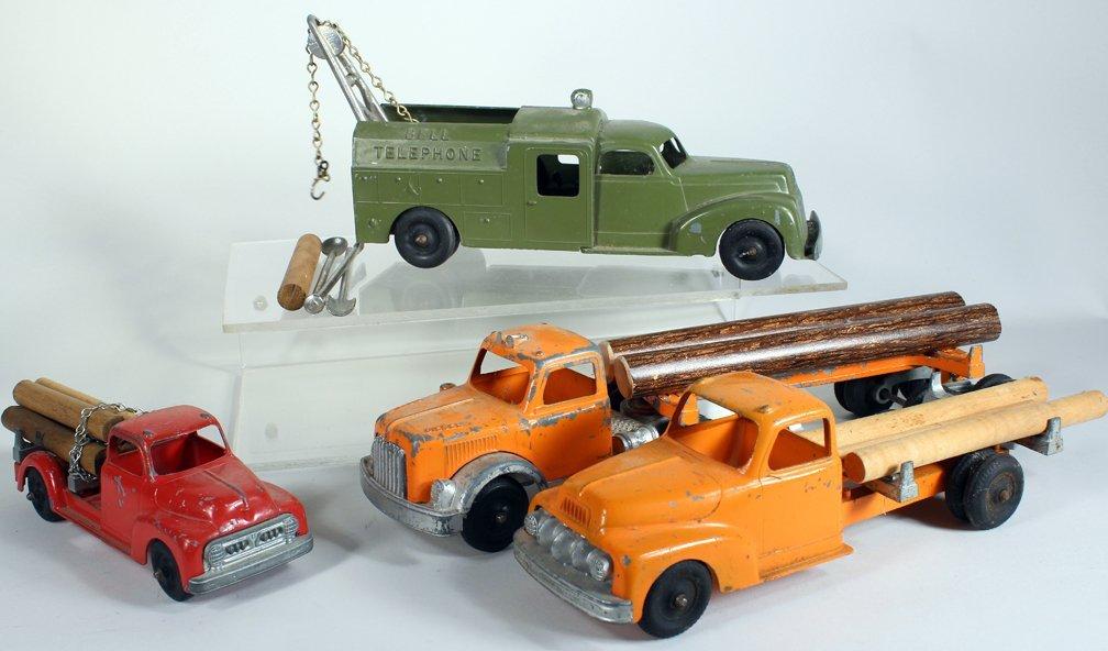 Four Hubley Work Trucks - 2