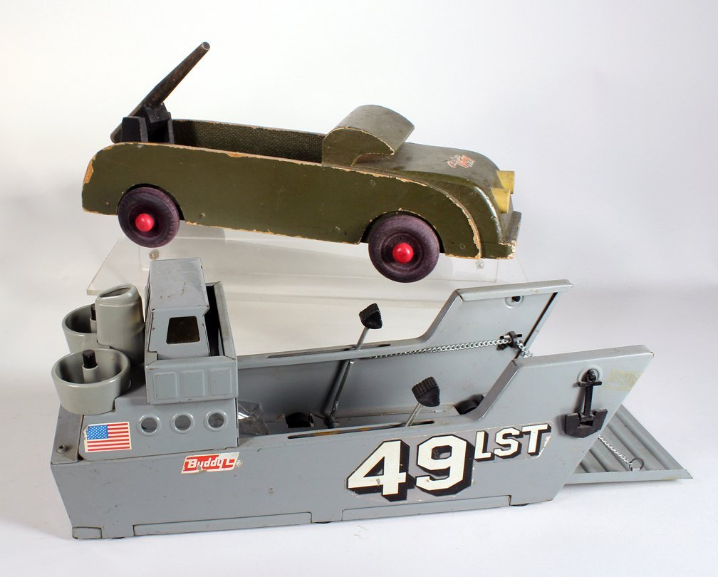 Buddy L WWII Armed Truck Navy Landing Ship - 2